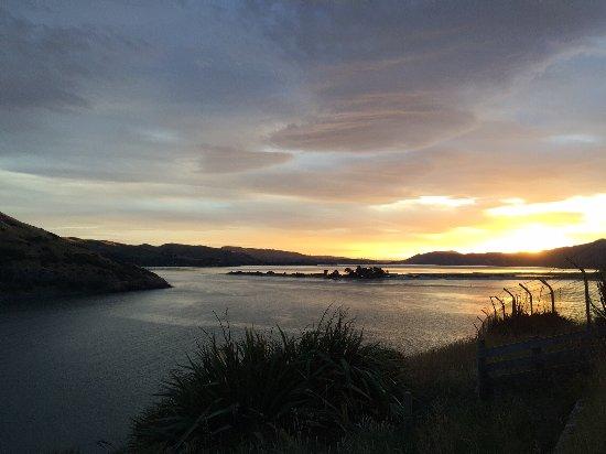 Otago Peninsula: Sunset