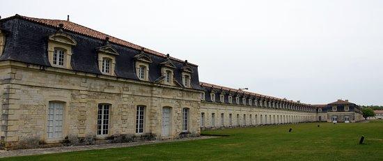Ροσφόρ, Γαλλία: Une partie du bâtiment principal