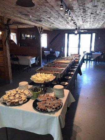 Steinbach, Canadá: Buffet