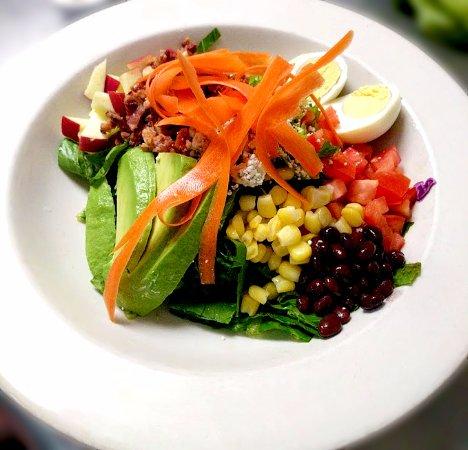 Montgomery, TX: A salad at the Café