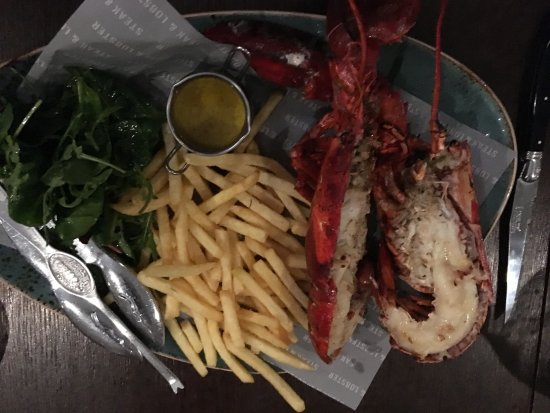 Marble Arch Hotel : Lobster :)