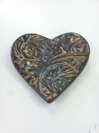 Weaverville, NC: Heart Ornaments and Magnets for the one you love.