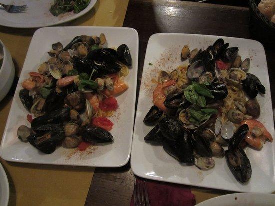 Osteria al Portego: Seafood Linguini
