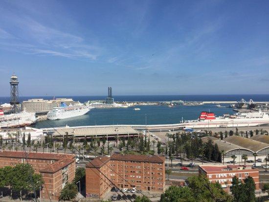 Barcelona Day Tours: Overlooking Barcelona Harbor