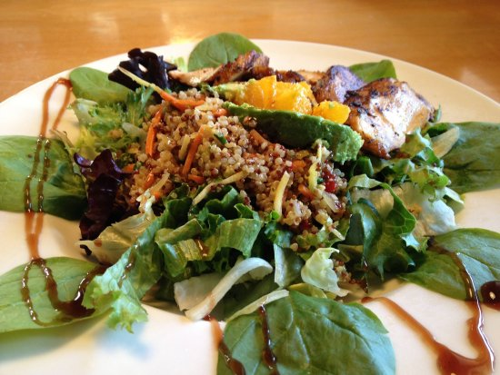 Fresh greens make the best salads at Perry's Restaurant in Ketchum, Idaho.