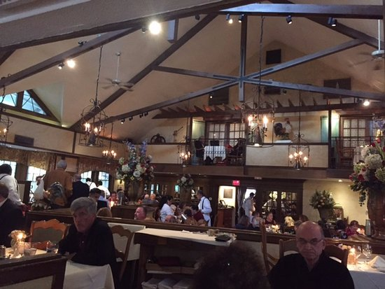 Chevy Chase, MD: Interior of La Ferme