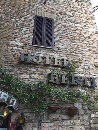 Hotel Berti: Front of hotel.