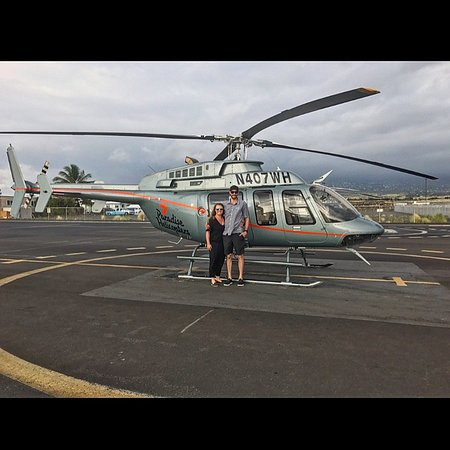 Paradise Helicopters - KONA : Volcano Tour - Bell 407