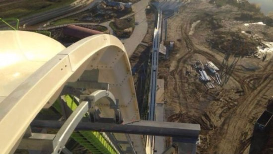 New Glasgow, Канада: the biggest waterslide in the world