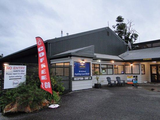 Westland National Park (Te Wahipounamu), نيوزيلندا: Haast Lodge