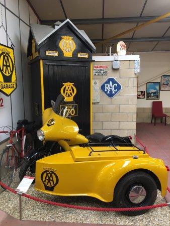 Haynes International Motor Museum: AA bike