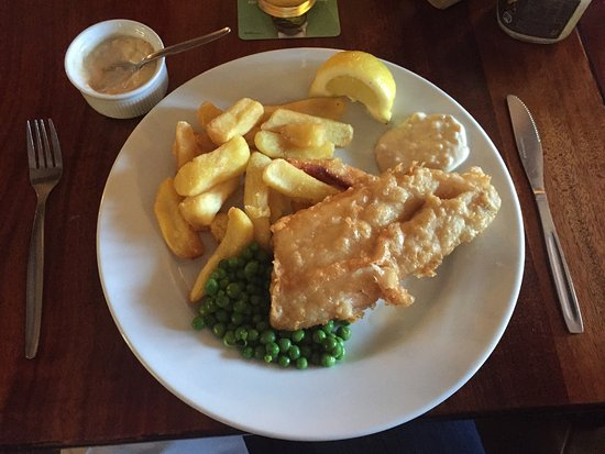 Chipping Sodbury, UK: Fish and chips