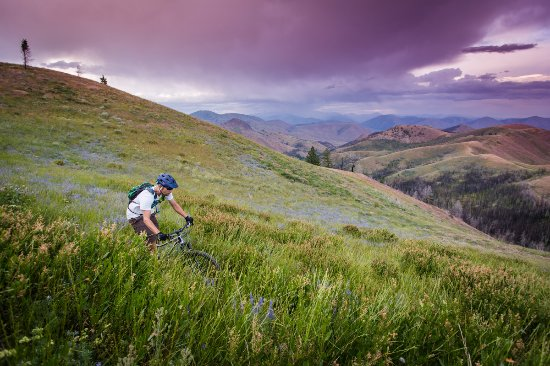 Sun Valley-Ketchum, ไอดาโฮ: Mountain Biking in Sun Valley, Idaho