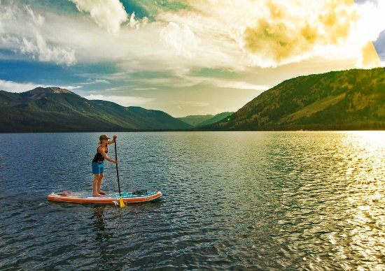 Sun Valley-Ketchum, ID: Paddleboarding