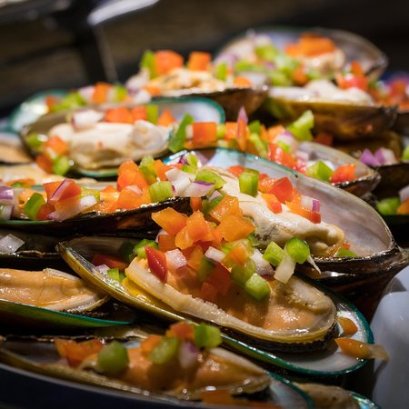 great mussels picture of genghis khan mongolian grill. Black Bedroom Furniture Sets. Home Design Ideas