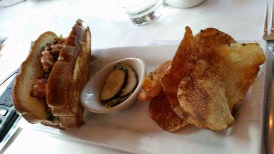 Glendale, CO: lobster sandwich