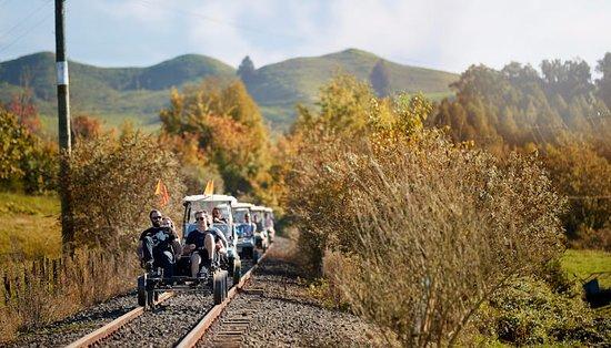 Taumarunui, Nowa Zelandia: Travelling the 5 tunnel section of line