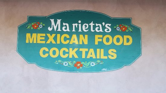 El Cajon, CA: Marieta's Entrance Sign