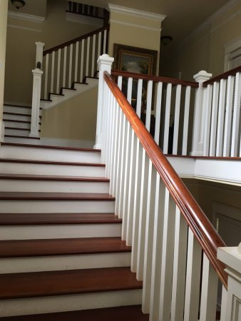 The Social Goat Bed & Breakfast: stairs to bedrooms