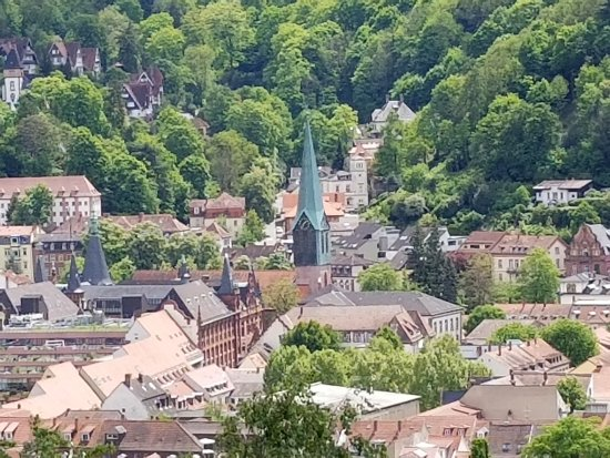 heidelberg view from hill top picture of nh heidelberg. Black Bedroom Furniture Sets. Home Design Ideas