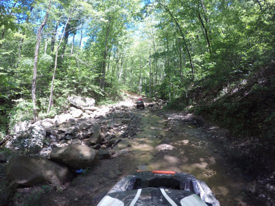 Oliver Springs, TN: win rock park trails