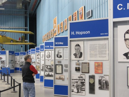 Wetaskiwin, แคนาดา: Aviation Hall of Fame