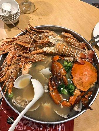 Skudai, Malaysia: Seafood galore