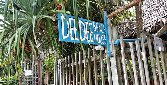 Dee Dee Beach House: Beach Entrance. There is also another entrance from the street if you come home late.