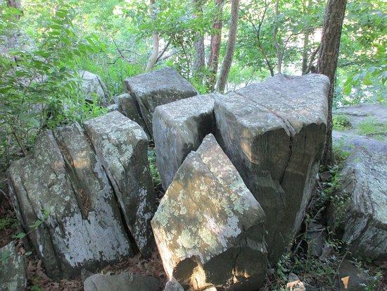 Potomac, แมรี่แลนด์: some rocks