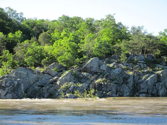 Potomac, แมรี่แลนด์: rocks on the river