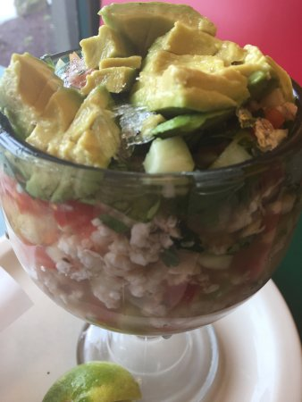 Gresham, Oregón: Ven y disfruta está deliciosa copa de ceviche