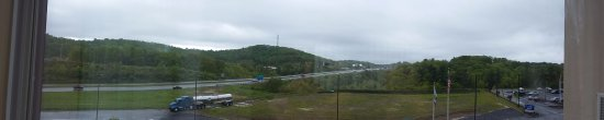 Princeton, WV: View from 4th floor suite