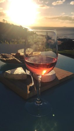 Cable Bay, New Zealand: On the patio