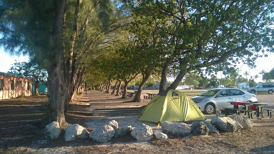 Long Key, FL: Camping section
