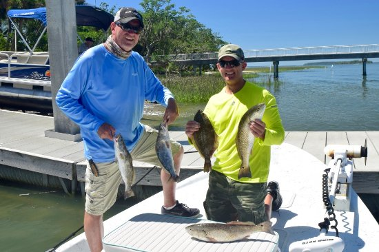 Tailer May'D Charters: Inshore slam - trout, redfish, flounder