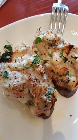 Timonium, Мэриленд: Crostini con shrims