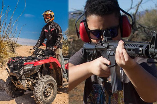 3-Hour ATV and Shooting Combo