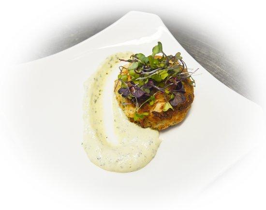 Manahawkin, Nueva Jersey: Crab Cake Appetizer