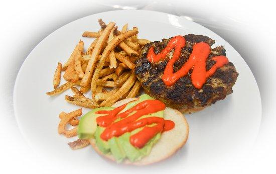 Manahawkin, NJ: Chorizo Stuffed Burger