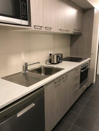 Tullamarine, Australien: 2 bed appt kitchen