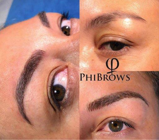 Kerobokan, Indonesia: Eyebrows Microblading - by phibrows technique