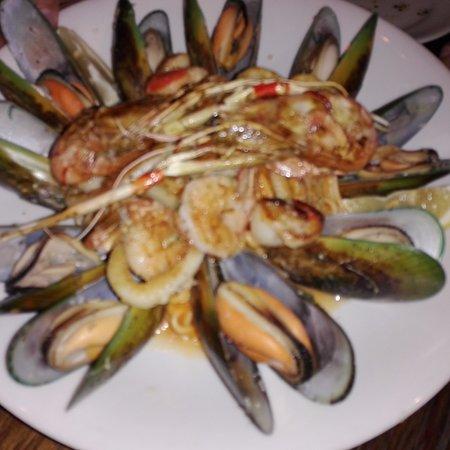 Portofino : Seafood platter