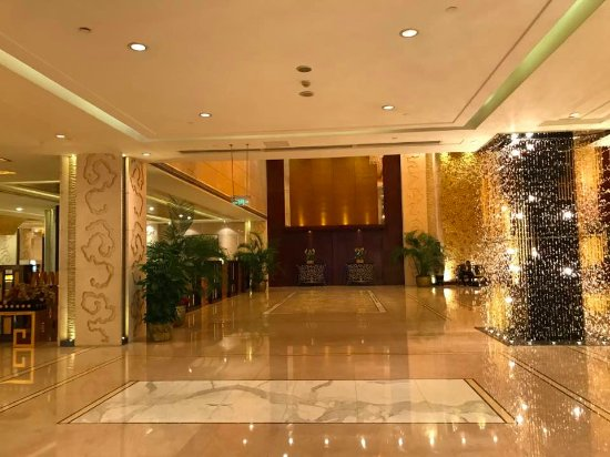 Hotel Lobby Picture Of West International Trade Hotel Beijing