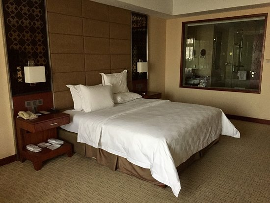 Blue Horizon Hotel (Qingdao Huangdao): The room.