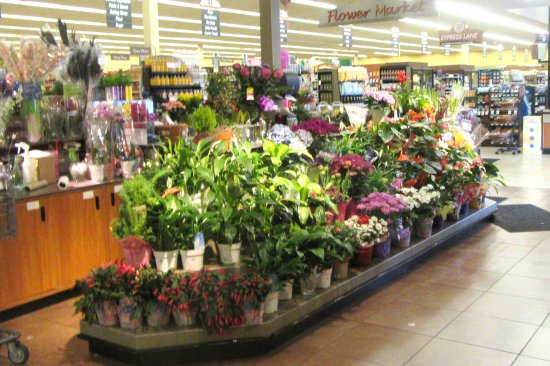 Florist Section, Nob Hill Foods, Campbell, Ca