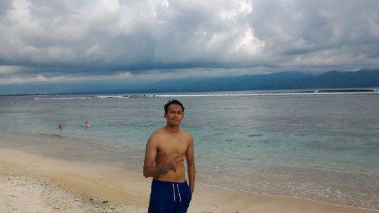 Gili Islands, Indonesia: berpose