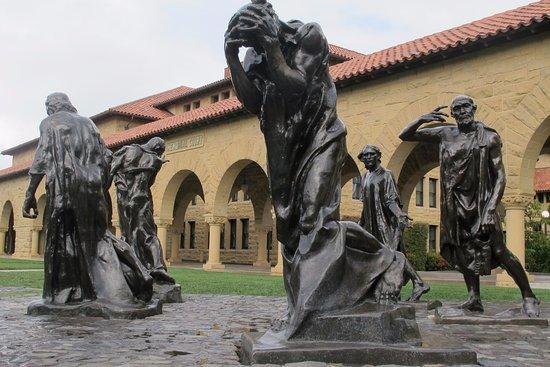 Palo Alto, CA: sculpture garden