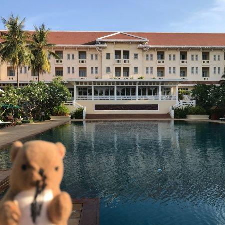 Raffles Grand Hotel d'Angkor: プール