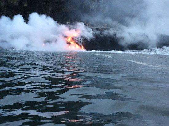 Pahoa, HI: fresh lava break