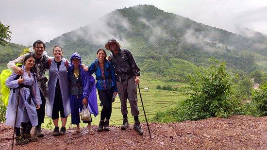 Luang Namtha, Laos: The group!